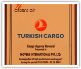 Cargo Agency Reward